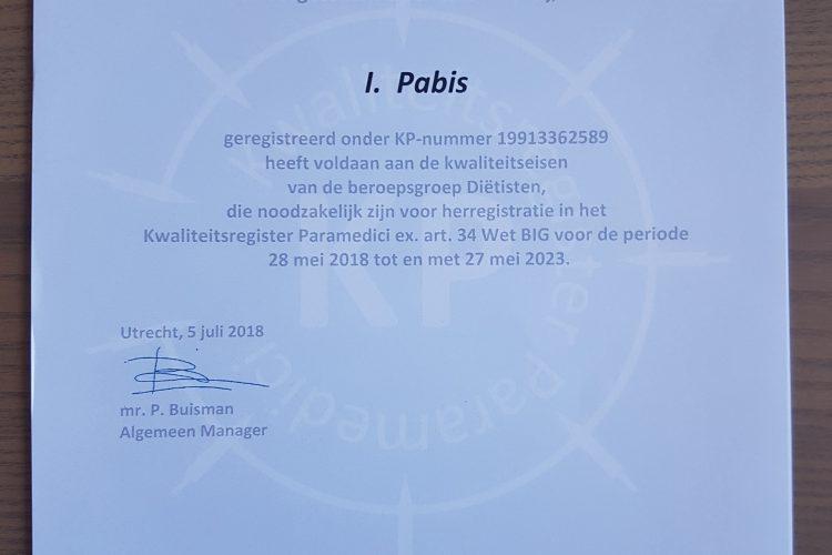 Kwaliteitsregister 2018-2023